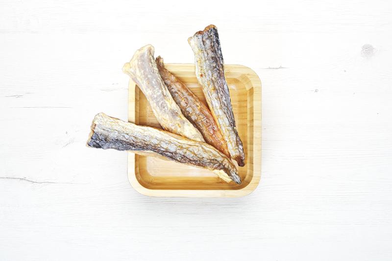 filete de merluza con piel