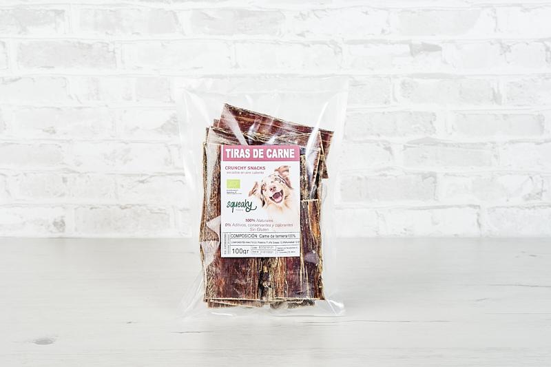 Tiras de carne de Ternera